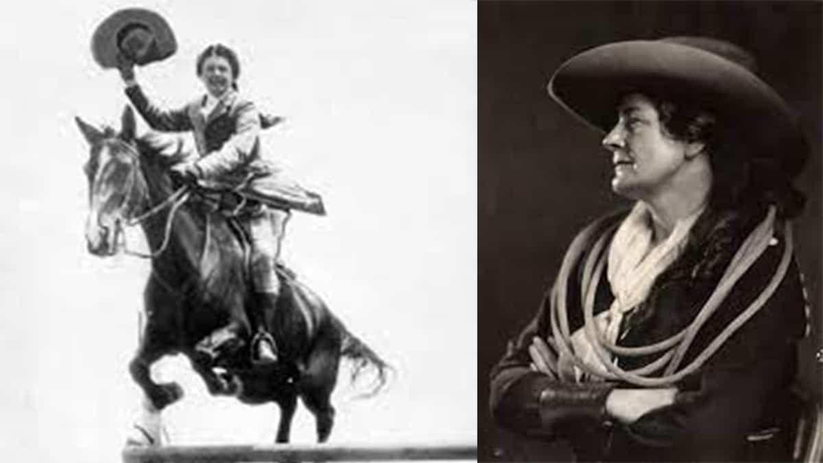 Adele Von Ohl cowgirl magazine