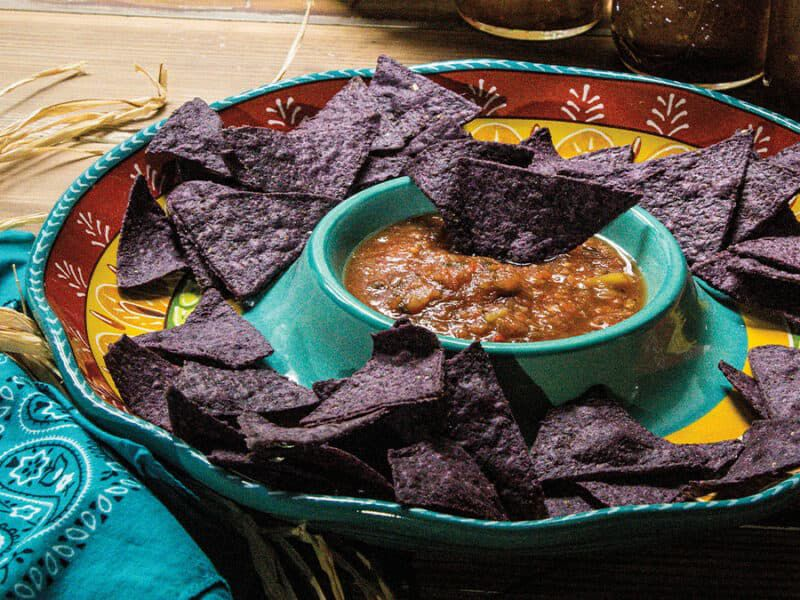 Fire-Roasted Hatch Chile Salsa cowgirl magazine