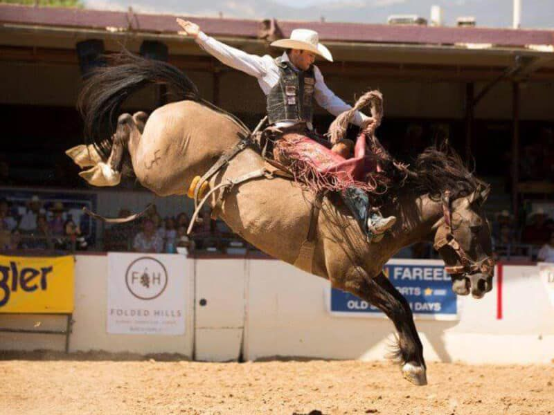 Old spanish days cowgirl magazine