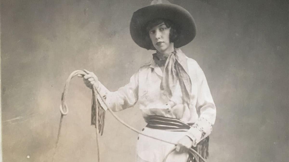 Hazel Hickey Moore Cowgirl Magzine
