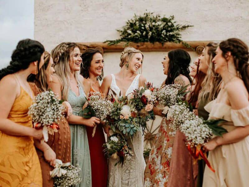 perfect wedding color palette
