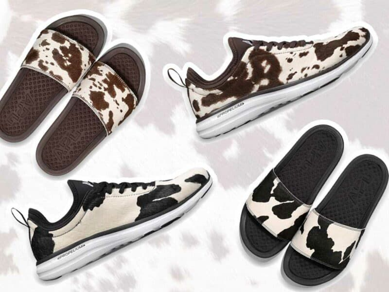 cowhide tennis shoes apl athletic propulsion labs cowgirl magazine