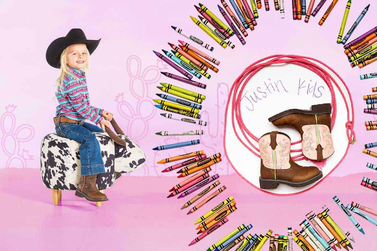 Justin kids cowgirl magazine