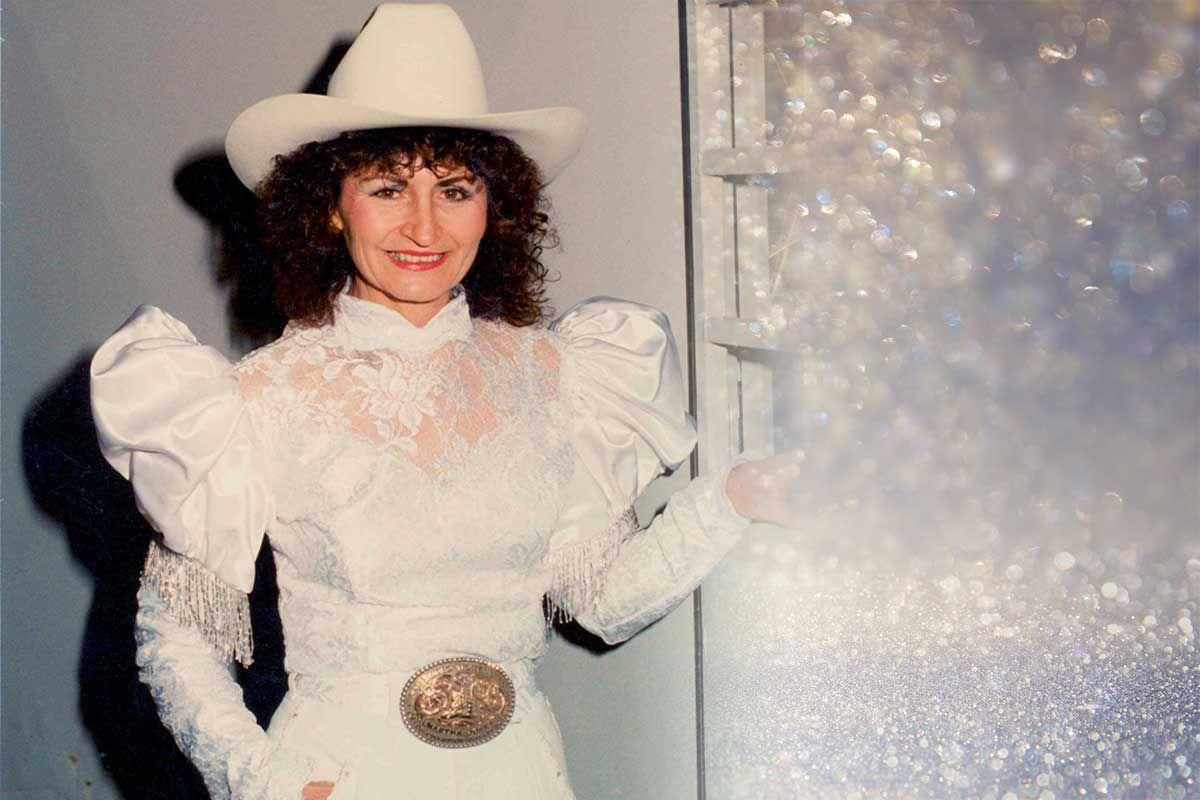 Martha Josey wedding dress cowgirl magazine