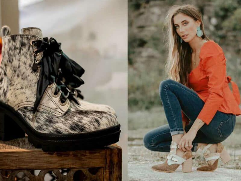 cowhide boots cowgirl magazine