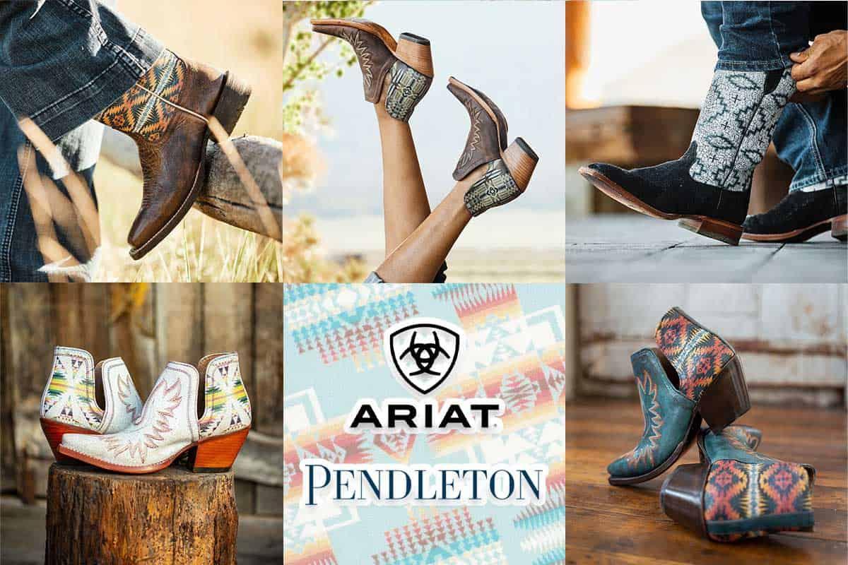 Ariat x pendleton cowgirl magazine