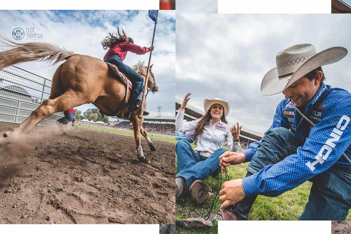clickthompson photography pendleton cowgirl magazine