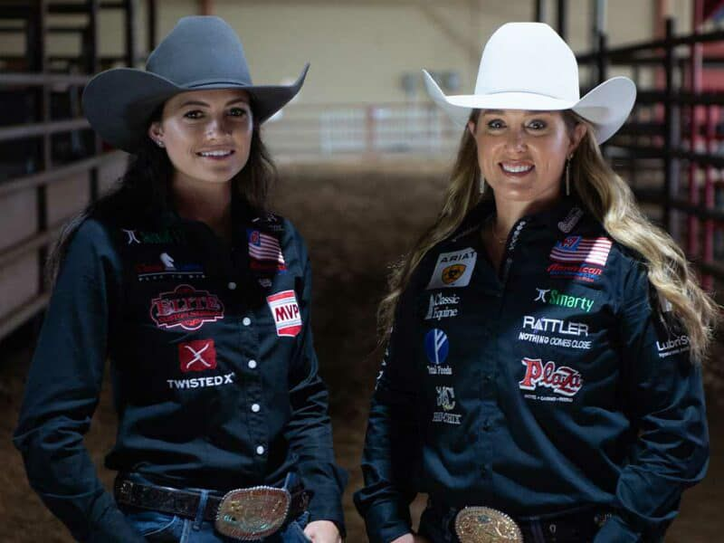 rodeohouston Jackie Crawford Shelby Boisjoli breakaway roping wpra cowgirl magazine
