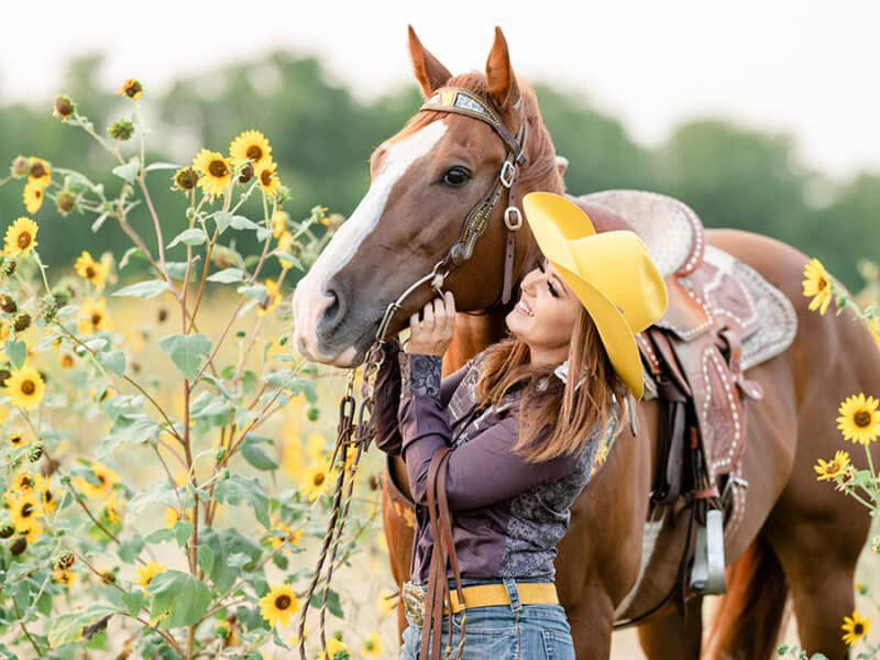 shelby mccamey yellow felt soul suicide prevention month cowgirl magazine
