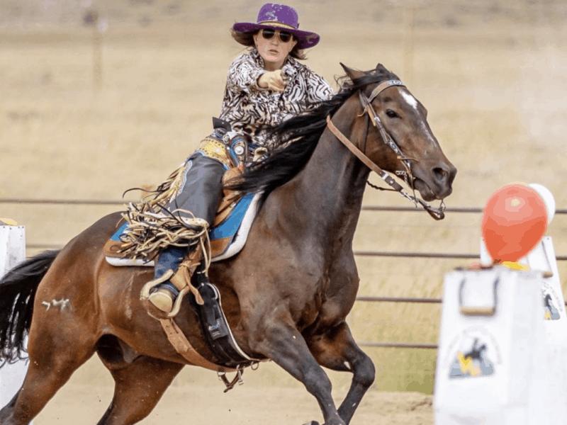 mounted shooting cowgirl magazine