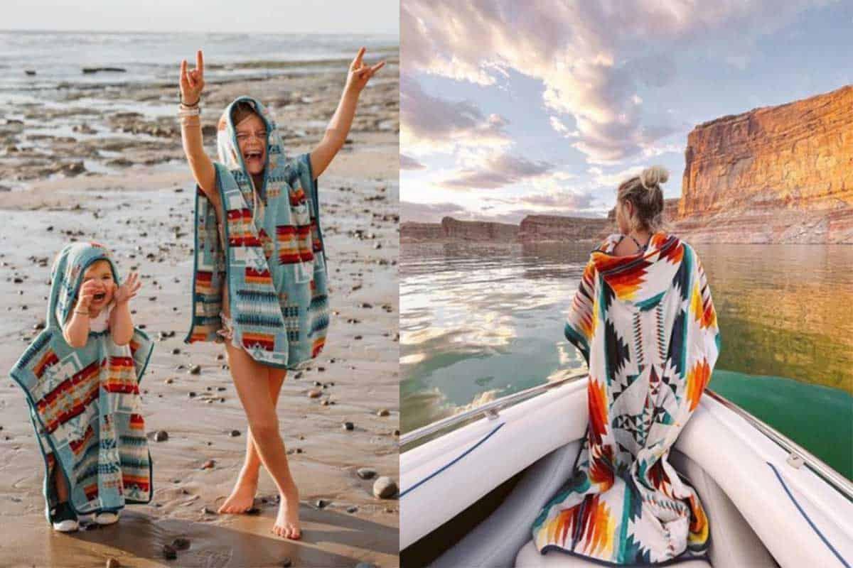 Pendleton hooded towel cowgirl magazine