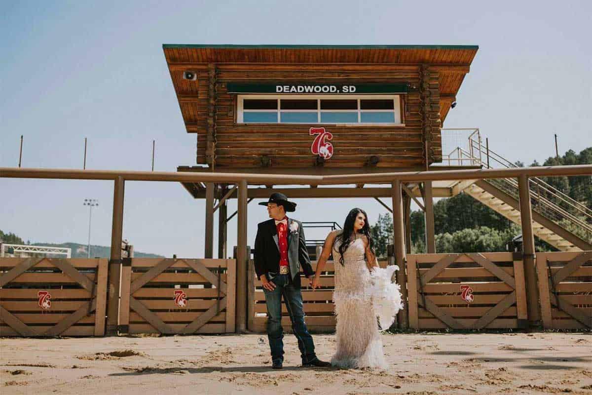 deadwood wedding