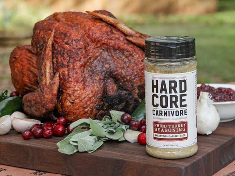 hardcore carnivore fried turkey seasoning cowgirl magazine